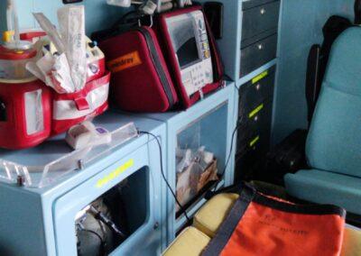 interno ambulanza
