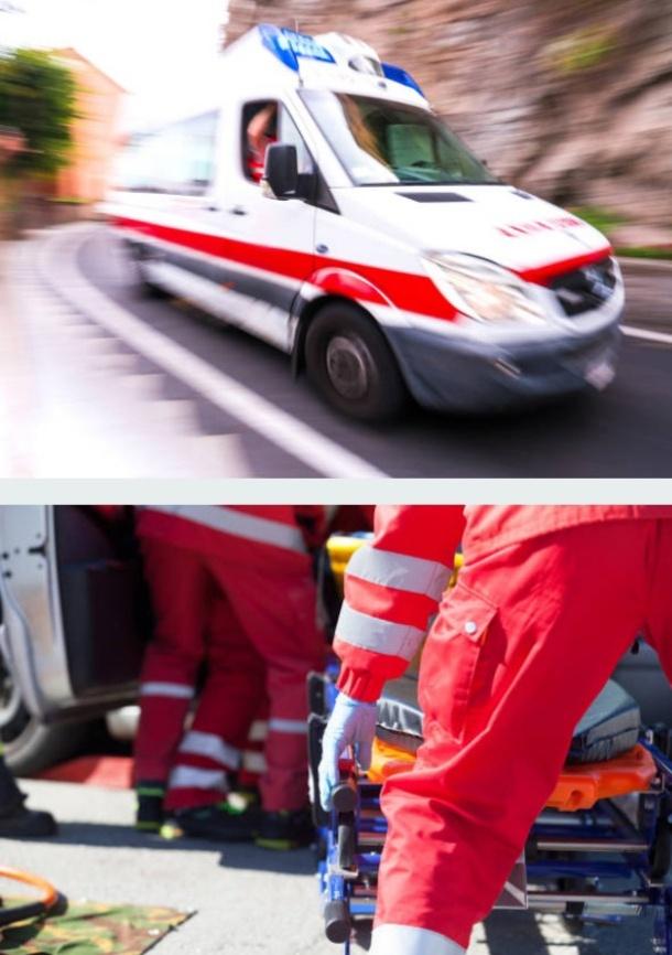 soccorritori in azione